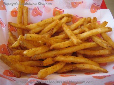 French Fry Diary: French Fry Diary 28: Popeyes Louisiana Kitchen