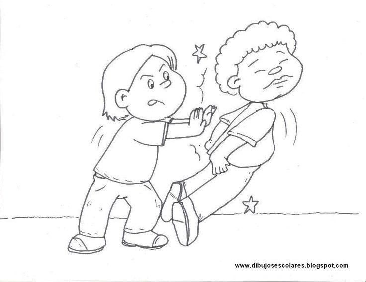 53 best images about acciones correctas e incorretas on - Ninos en clase dibujo ...