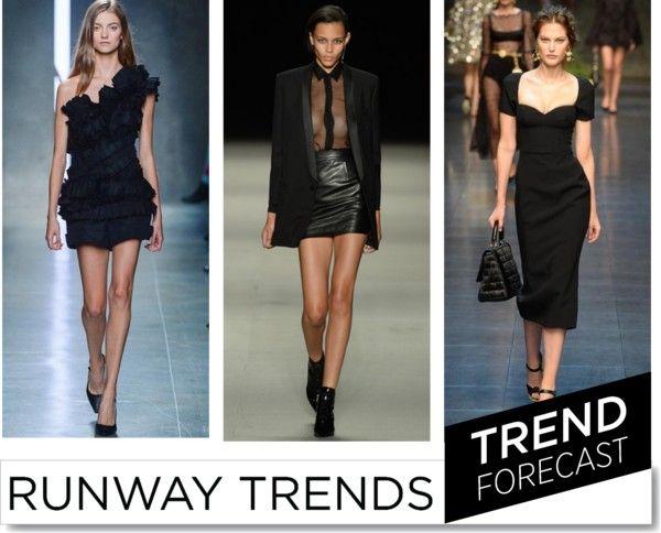Summer Black SS 2014 http://www.sandrascloset.com/the-most-important-ss-2014-runway-trends/