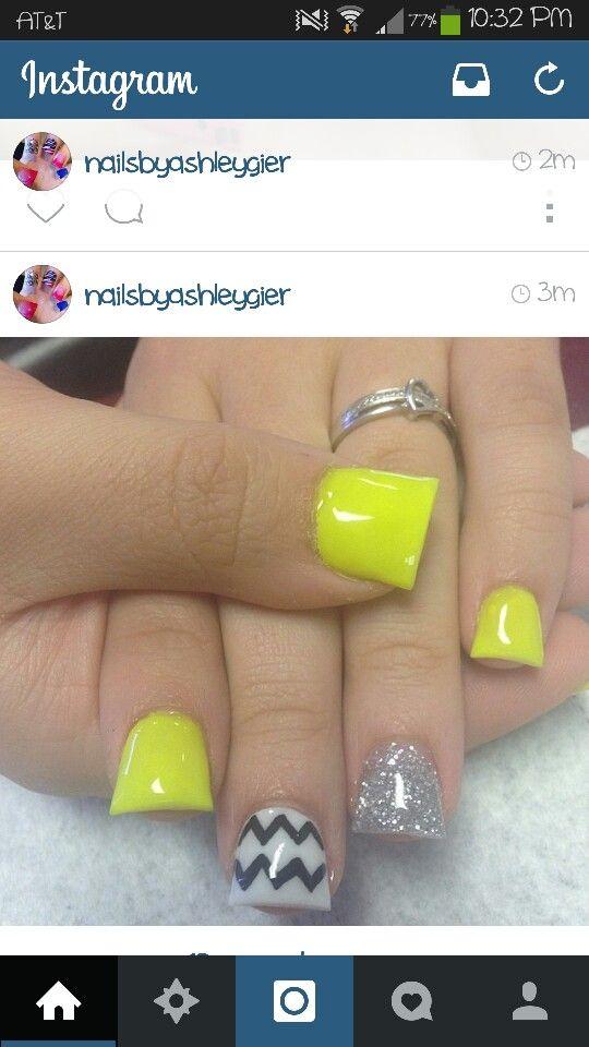 Flared nails