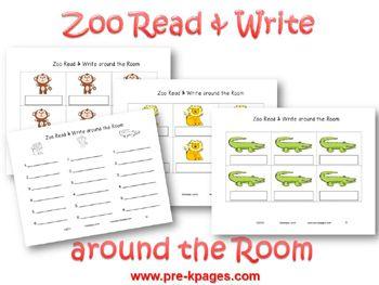 Kindergarten Sight Words Worksheets and Printables