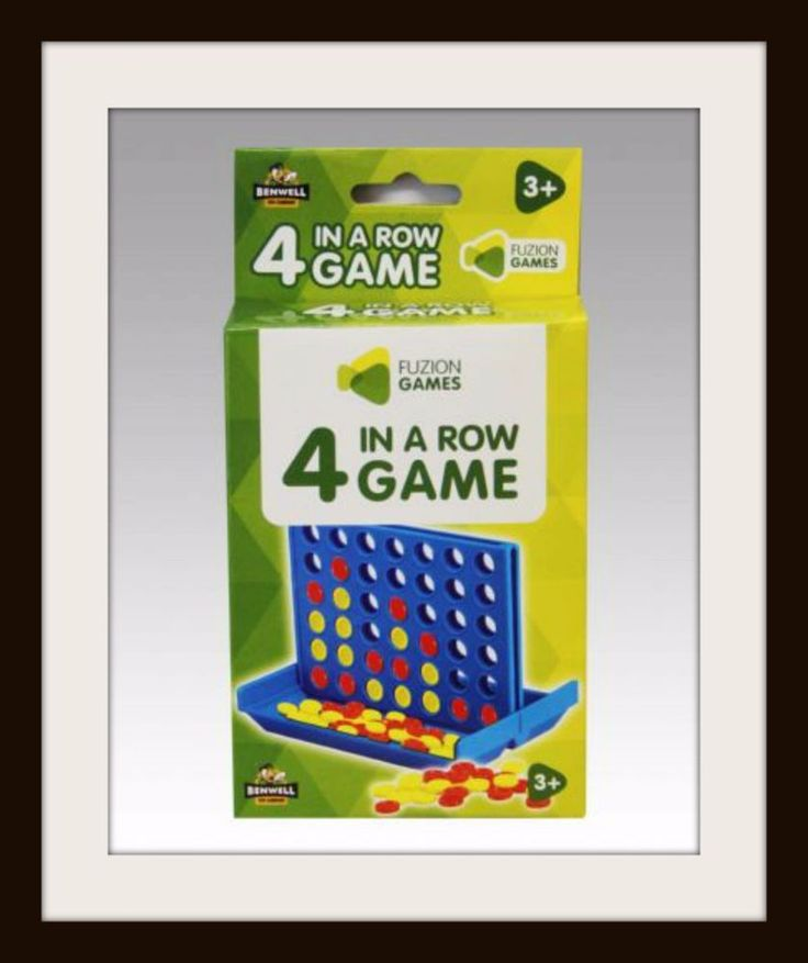 4 In a Row FUZION GAMES Classic 4 in a Row Game Stocking Filler Party Bag NEW #FUZIONGAMES #AllOccasions