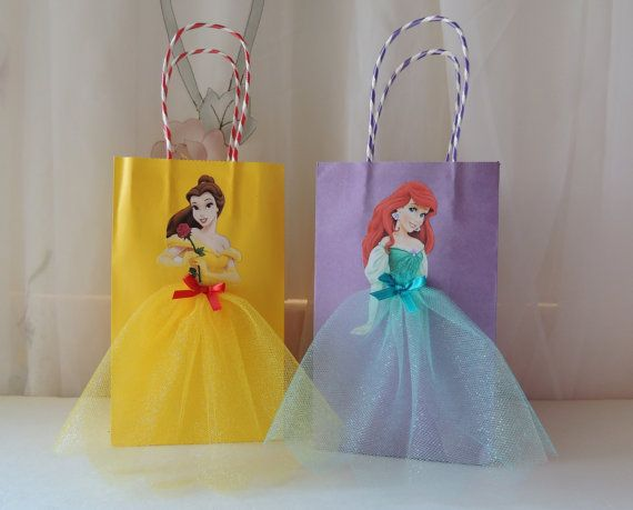 10 Pieces Disney Princess Birthday Goody by rizastouchofflair