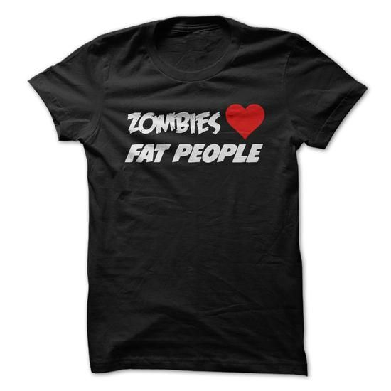 Zombies love fat people