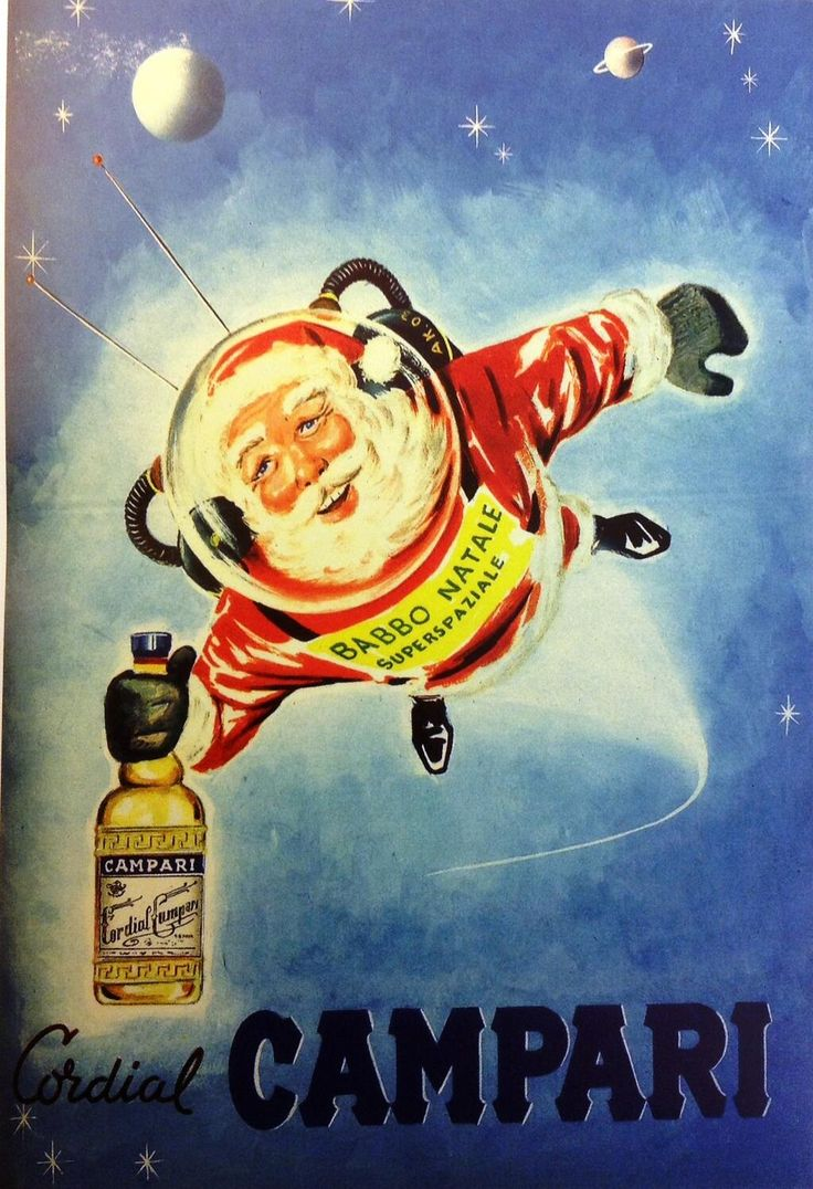 Christmas letter g with santa claus cap stock photo 169 vladvitek - Natale Campari 1958