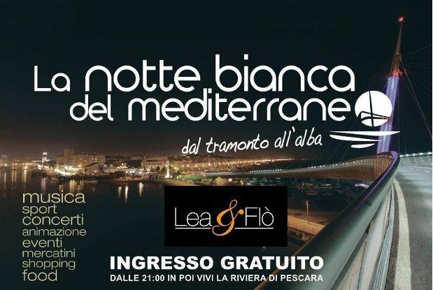 #NotteBiancaPescara:#Saldi al 50% da #LEAeFLO!Ai primi 50clienti un gadget speciale!#shopping con #Stile!