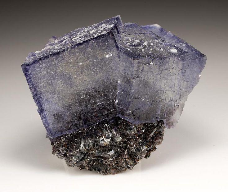 Fluorite with Sphalerite --- Elmwood Mine, Smith Co., Tennessee, USA