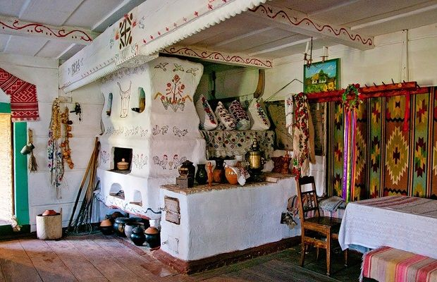 maison typique ukraine