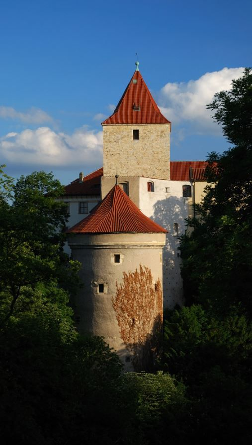 Daliborka tower, Prague castle, Czechia