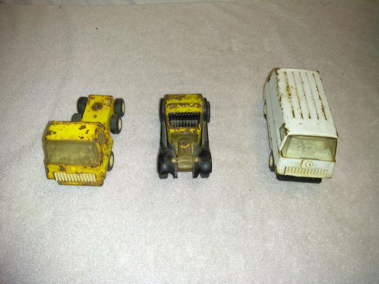 Antique 1960-1970 Tonka Trucks by TreasureHuntersShop on Etsy