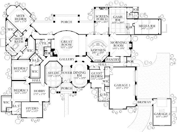 House Plans With Media Room 29 best house floor plan images on pinterest | house floor plans