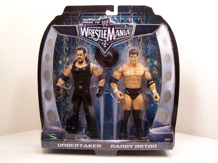 "WWE Undertaker & Randy Orton ""Road to Wrestlemania 22"" Jakks (Series 1) Figures - http://bestsellerlist.co.uk/wwe-undertaker-randy-orton-road-to-wrestlemania-22-jakks-series-1-figures/"