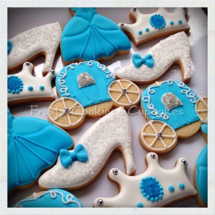 Cinderella cookies!!! Galletas de cenicienta!!