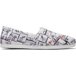 Toms Schuhe Star Wars X Weiße At-At™ Print Classics Für Herren – Größe 39 TomsToms Toms Shoes Star Wars X White At-At™プリントクラシックフォーメン-サイズ39 TomsToms