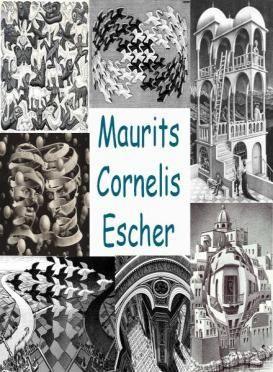 Leuke en informatieve powerpoint over Maurits cornelis escher voor 5, deze en nog vele andere kun je downloaden op de website van Juf Milou.