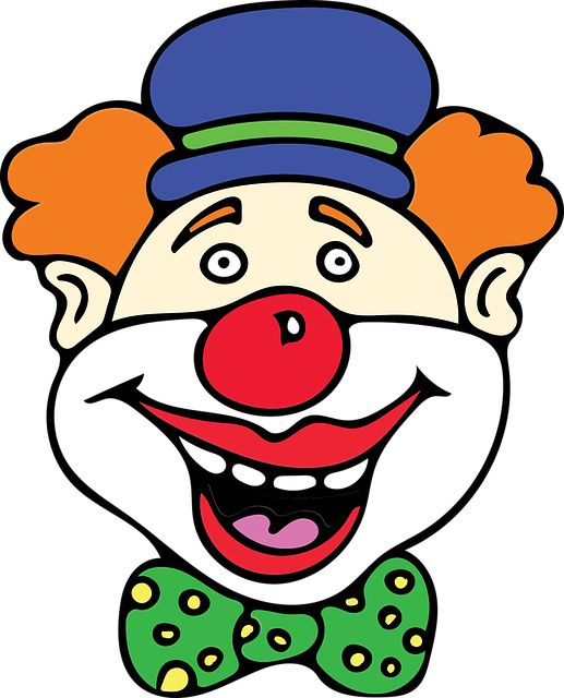 Free Image on Pixabay - Clown, Red Nose, Costume, Birthday
