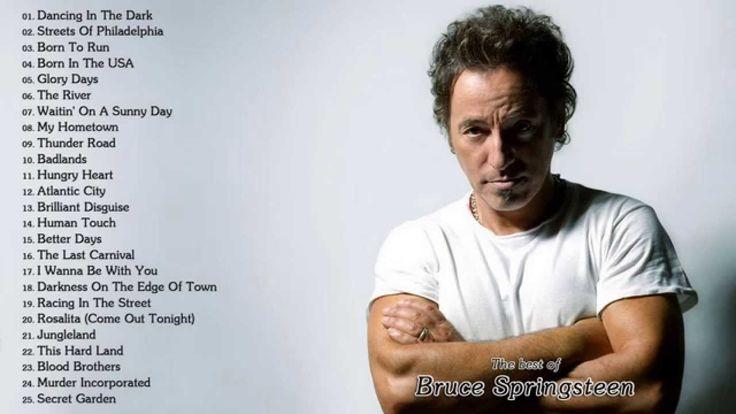 Bruce Springsteen's Greatest Hits || Best Songs of Bruce Springsteen
