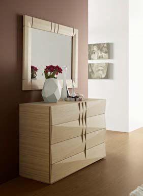Se a cómoda e o espelho são assim, imagina o resto! #Móveis #Quarto #Decoração #MobiliárioTOP