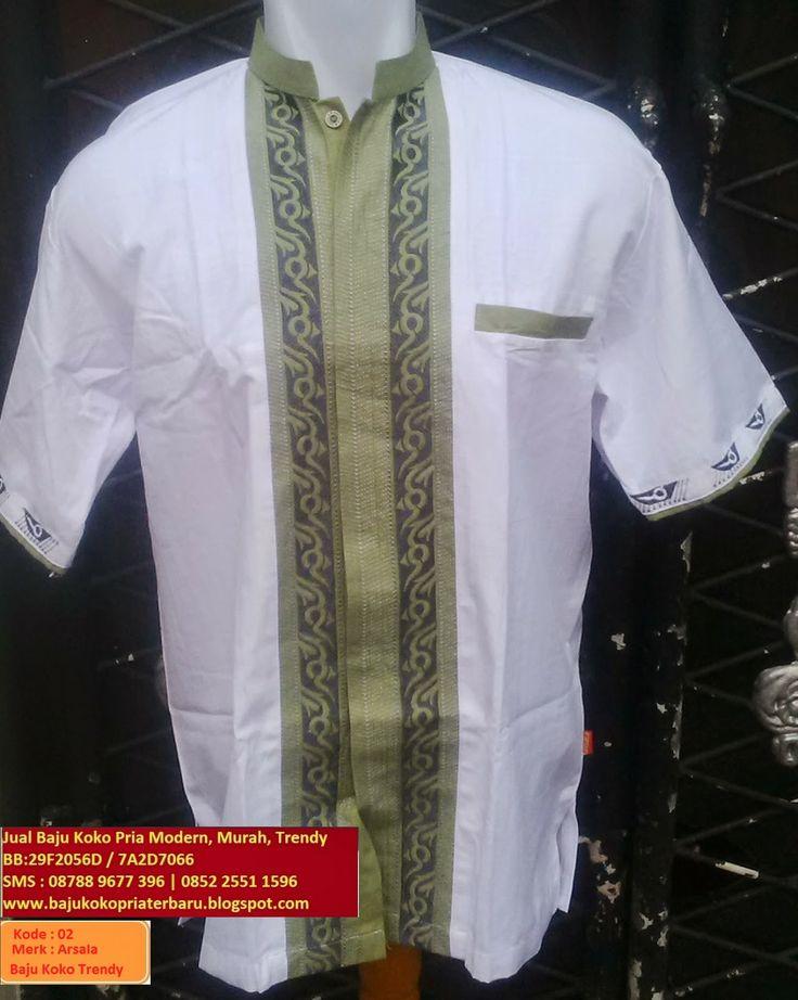 Jual Baju Koko Pria Modern Murah Trendy, BB :29F2056D | 7A2D7066 |SMS:08788-9677-396 | 0852-25511596: Baju Koko Pria Trendy ( AS-02 ) Warna Putih Corak ...