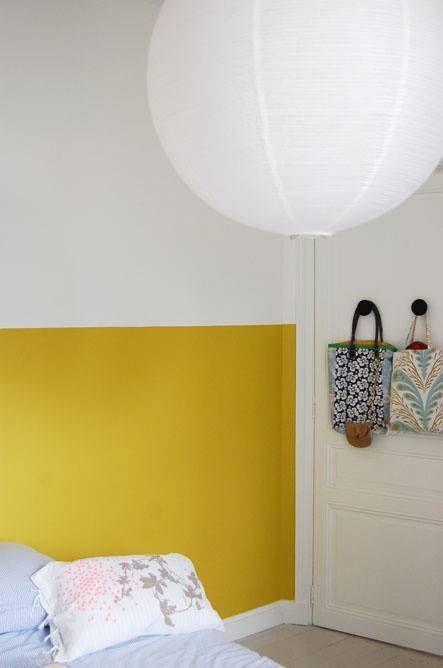 Une couleur dans un renfoncement pour donner une ambiance à la pièce