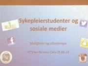 NSF Student  - nettvettsregler for sykepleierstudenter