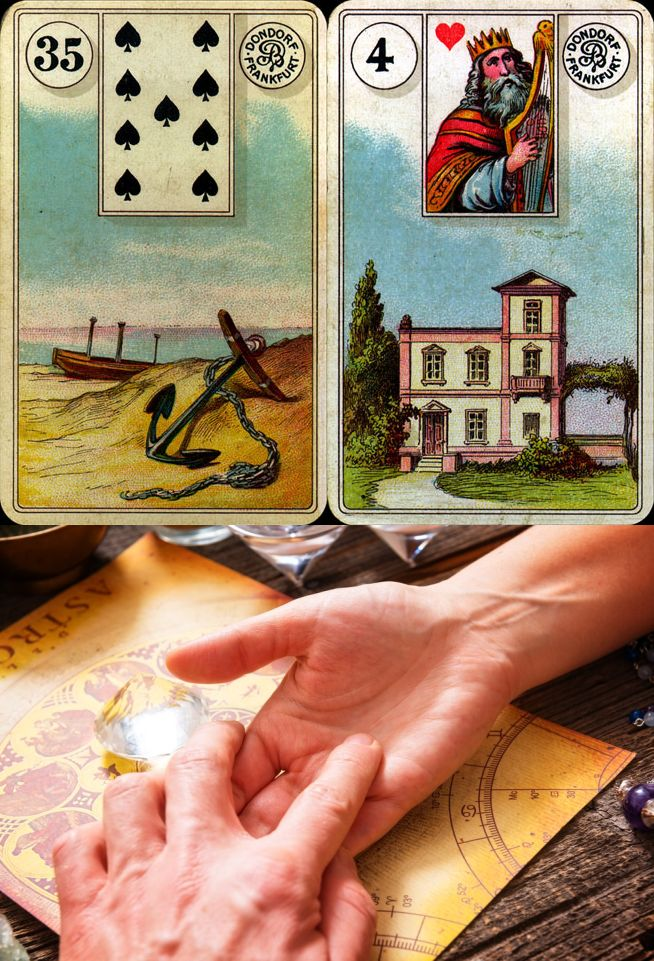 wahrsagekarten, lenormand meanings and lenormand card meanings pdf, tri karti taro and madame leonard tarot.