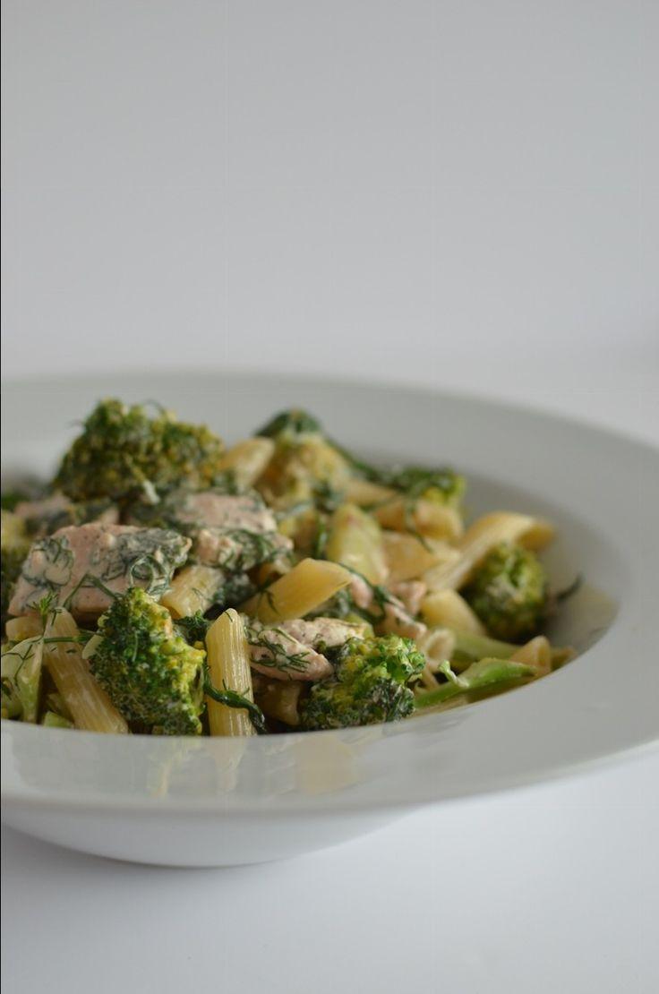 Salmon and Broccoli Pasta   Recipes   The Windmill Bakery