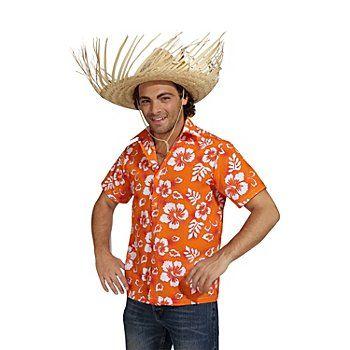 Hawaii Hemd aus feinem Polyester-Gewebe, mit tollem Blütendruck, vorn mit Knopfleiste, Farbe: orange, Material: 100 % Polyester.Achtung: Lieferung ohne Hut!Aloha! Willkommen im Urlaubsparadies Karibik! Hier gibt es Sonne, Strand und Palmen im Überfluss. Holen Sie sich Ihr Urlaubsfeeling nach Hause! Mit diesem tollen Hawaiihemd sind Sie nicht nur für Fasching oder Karneval, sondern auch für Hawaii Partys perfekt ausgerüstet.