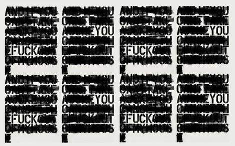 Jeffrey Earp, in-appropriation (pulling their eyes over the wool)  on ArtStack #jeffrey-earp #art