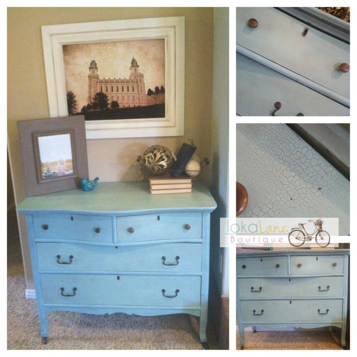 Elegant Reclaimed Curved Front Dresser. Original Hardware. Painted With Miss  Mustard Seed Milk Paint Eulalies