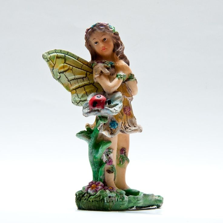 Fairy with hands on her heart