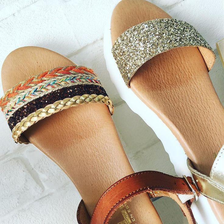 Comoditas y glamurosas para empezar un lunes a topeeee con energía y buen rollito con estas sandalias de @klzshoes en piel  Visita nuestra tienda On line ( link in bio) 967607674 MD