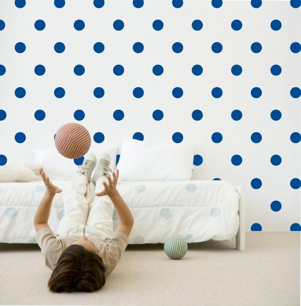Speckled House-Kids Room Decor-Wall Decals {Ink Spots}