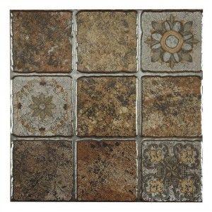 Gresie Riazan decor 31,6x31,6 cm