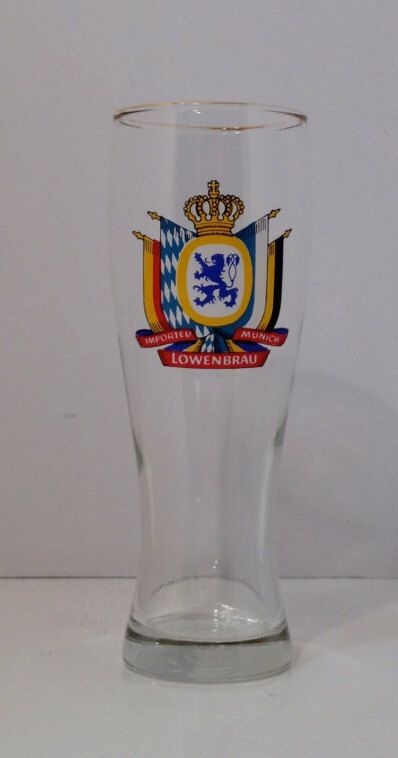 Vintage Imported Munich Lowenbrau Beer Glass by KitschyCollection on Etsy https://www.etsy.com/listing/464279189/vintage-imported-munich-lowenbrau-beer