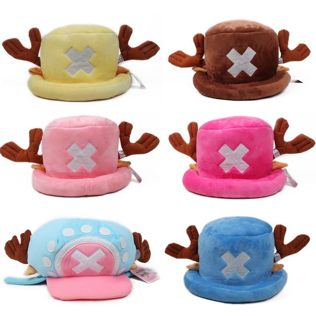 Anime Een Stuk knuffels cosplay Tony Chopper pluche katoenen hoed warme winter hoed cartoon cap voor kinderen gift