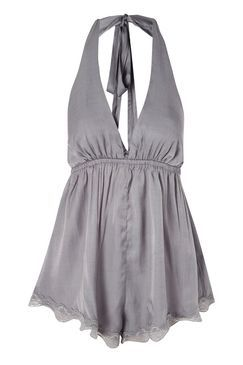 Topshop Silver Playsuit by Somedays Lovin' Found on my new favorite app Dote Shopping #DoteApp #Shopping
