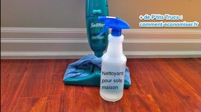 Vous cherchez un nettoyant naturel et efficace pour vos sols ? Vous avez bien raison ! C'est mieux que d'utiliser des produits toxiques dans la maison ! Je vais vous montrer ici comment nettoyer vo...