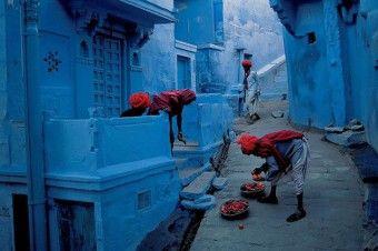 青の誘惑。街全体がブルーに染められた街『ジョードプル