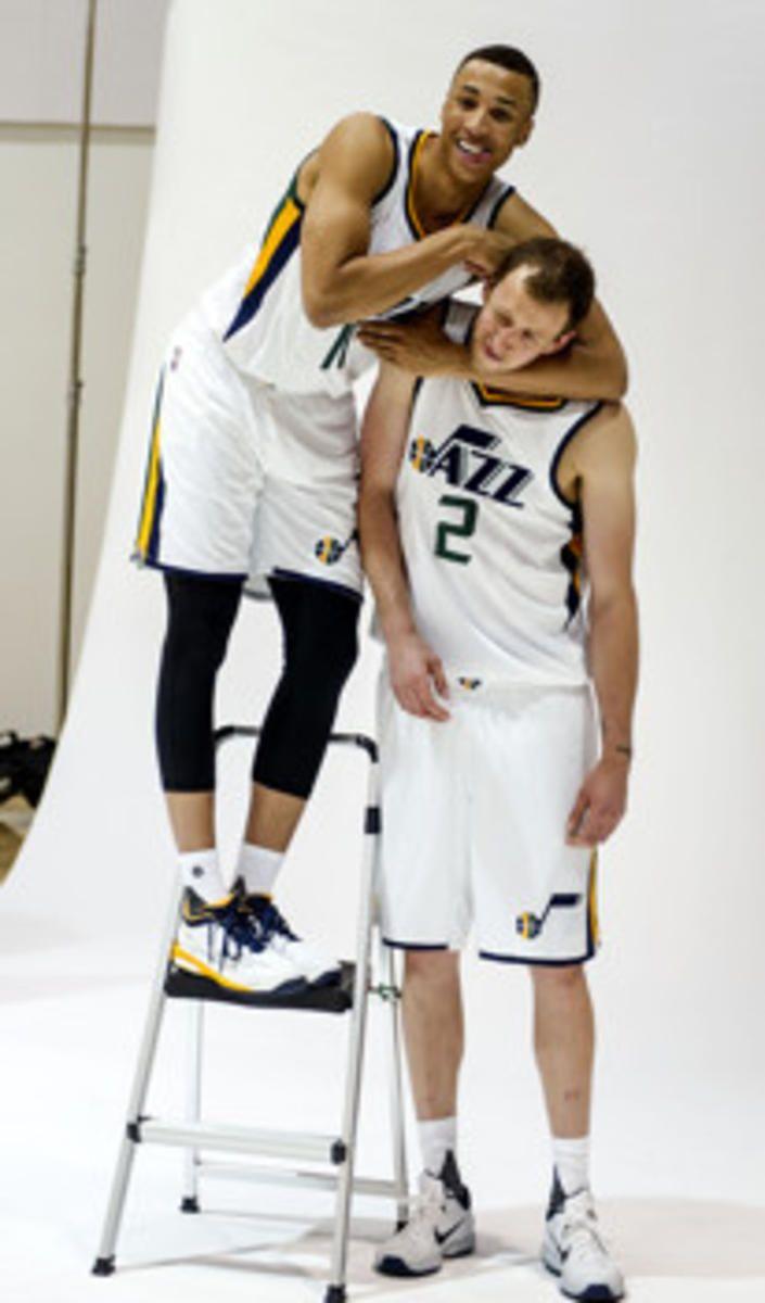 Dante Exum happy to get reps in with the Utah Jazz