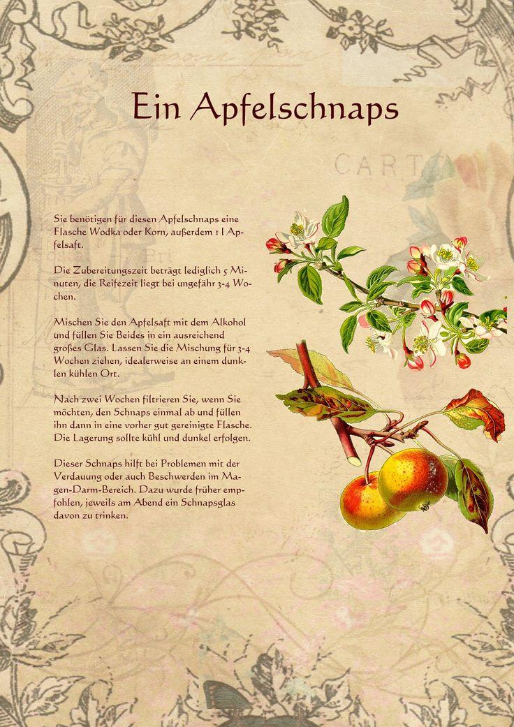Ein Apfelschnaps
