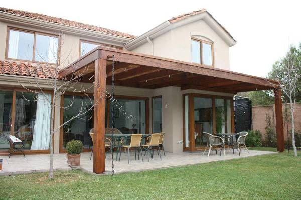 Construccion de cobertizos terrazas p rgolas quinchos for Cobertizos para patios