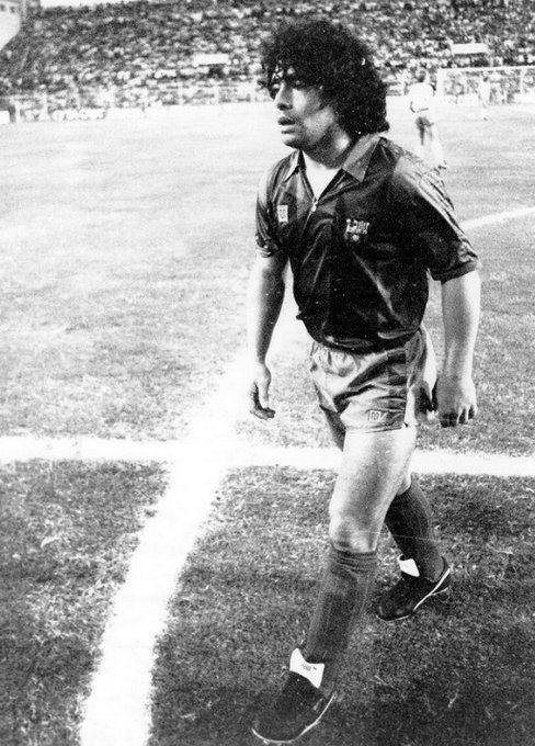 Maradona, Barcelona 1983