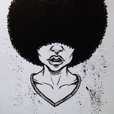 Resultado de imagem para mulata black power desenho