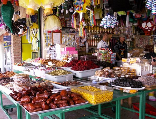 Mexico Street Food: Rosarito Beach Candy Store