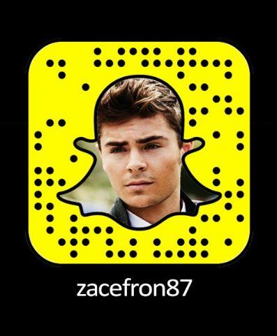Zac Efron Snapchat Username & Snapcode  #snapchat #ZacEfron http://gazettereview.com/2017/01/zac-efron-snapchat-username-snapcode/