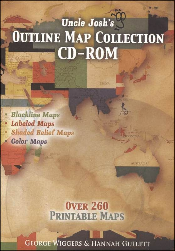 Uncle Josh's Outline Maps CD-ROM | Main photo (Cover)