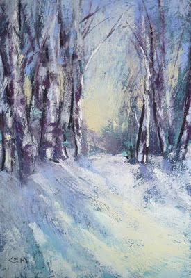 Karen Margulis Painting my World: Winter Pastel Paintings...YouTube Slide Show