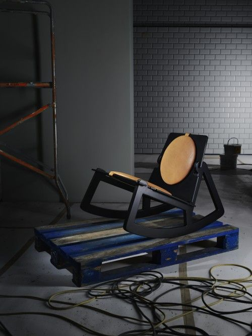 Rock Chair by Fredrik Färg for Design House Stockholm