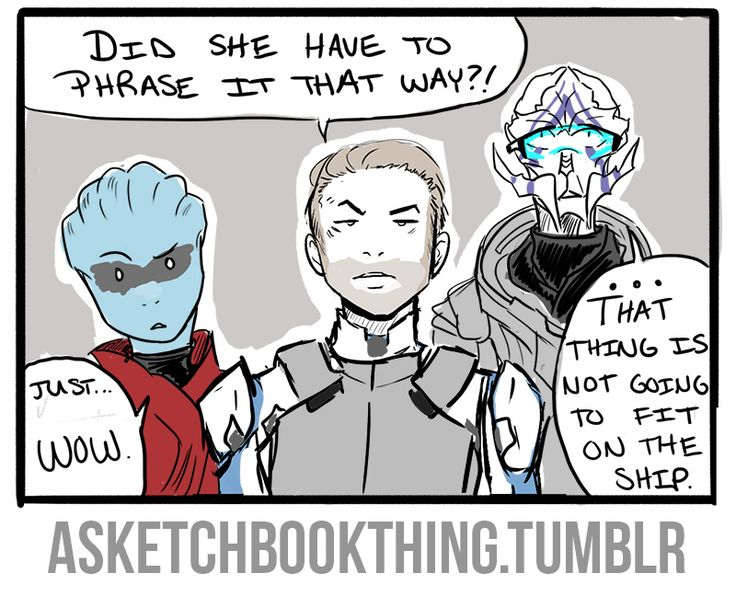 Your Turian is showing...